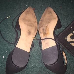 Shoes - Flats lace up ankle
